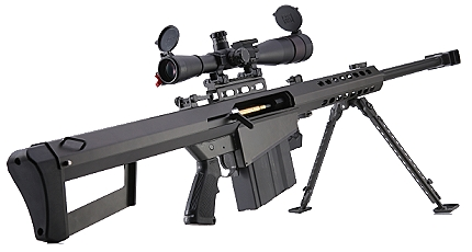 Barrett M82 Series 50 Cal Airsoft Sniper Rifle