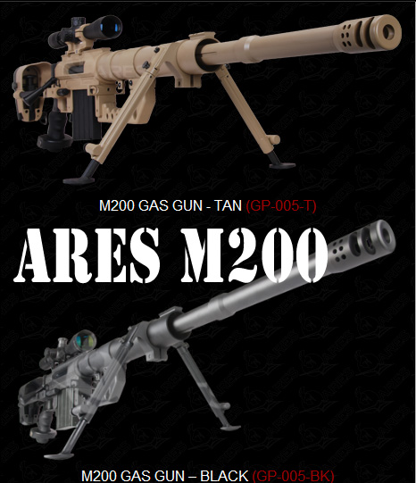 Ares' Cheytac Intervention M200